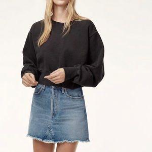 NWT - AGOLDE Quinn Devotee Denim Skirt Size 25